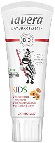 günstig Lavera Kids Zahnpasta ∙ Kein Fluorid oder Farbstoffe ∙ Organische Ringelblume und Kalzium ∙ Bio Vegan… Vergleich im Deutschland