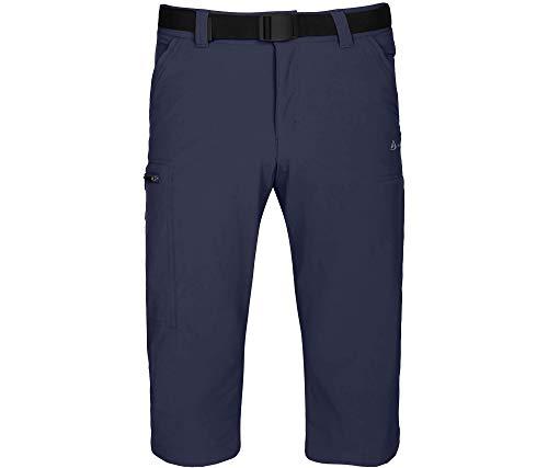 Bergson 3/4 heren fietsbroek ALTIG - 3/4 fietsbroek, bi-elastisch, duurzaam, diverse zakken, uitneembare fietsonderbroek met zitkussen, PFC-vrij