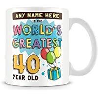 Taza de café, personalizable con el nombre del hombre, el mito y la leyenda, diseño de papá abuelo, regalo de cerámica, 11 onzas, color blanco