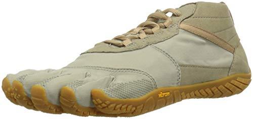Vibram Five Fingers Women's V-Trek Trail Hiking Shoe (38 EU/7.5-8, Khaki/Gum)