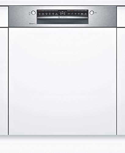 Bosch SBI4HCS48E Serie 4 XXL-Geschirrspüler Teilintegriert / D / 60 cm / 92,5 cm Nischenhöhe / 85 kWh/100 Zyklen / 14 MGD / SuperSilence / ExtraTrocknen / VarioSchublade / Home Connect