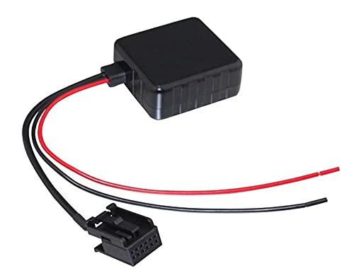 XIAO YANG Adaptador de 12pin Bluetooth Audio inalámbrico Audio Stereo Cable Ajuste para Ajustar Ford FIT FOR Focus MK2 MK3 Apto para la Fiesta