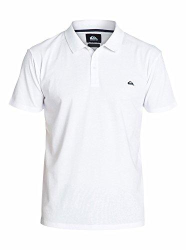 Quiksilver Dartford Polo Homme White FR : XXL (Taille Fabricant : XXL)