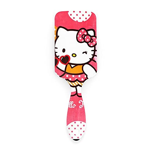 Hello Cartoon Kitty Air Cushion Peine antiestático cepillo de pelo cuero cabelludo masaje peine para cabello mojado y cabello seco cabello rizado o recto hombres mujeres