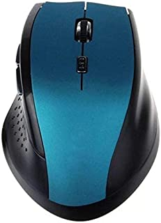 Mouse Raton Professional 2.4GHz Wireless Optical Gaming Mouse Mice For PC Laptop computer mouse 18Aug6 (Color : Canglan)