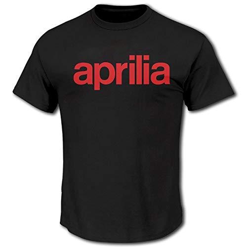 Men's Aprilia Logo Short Sleeve T Shirt