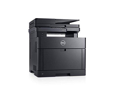 Dell H825cdw Cloudfähiger WLAN Multifunktions-Farblaserdrucker mit automatischer Duplex Druck- & Scanfunktion (Scanner, Fax, Kopierer & Drucker)
