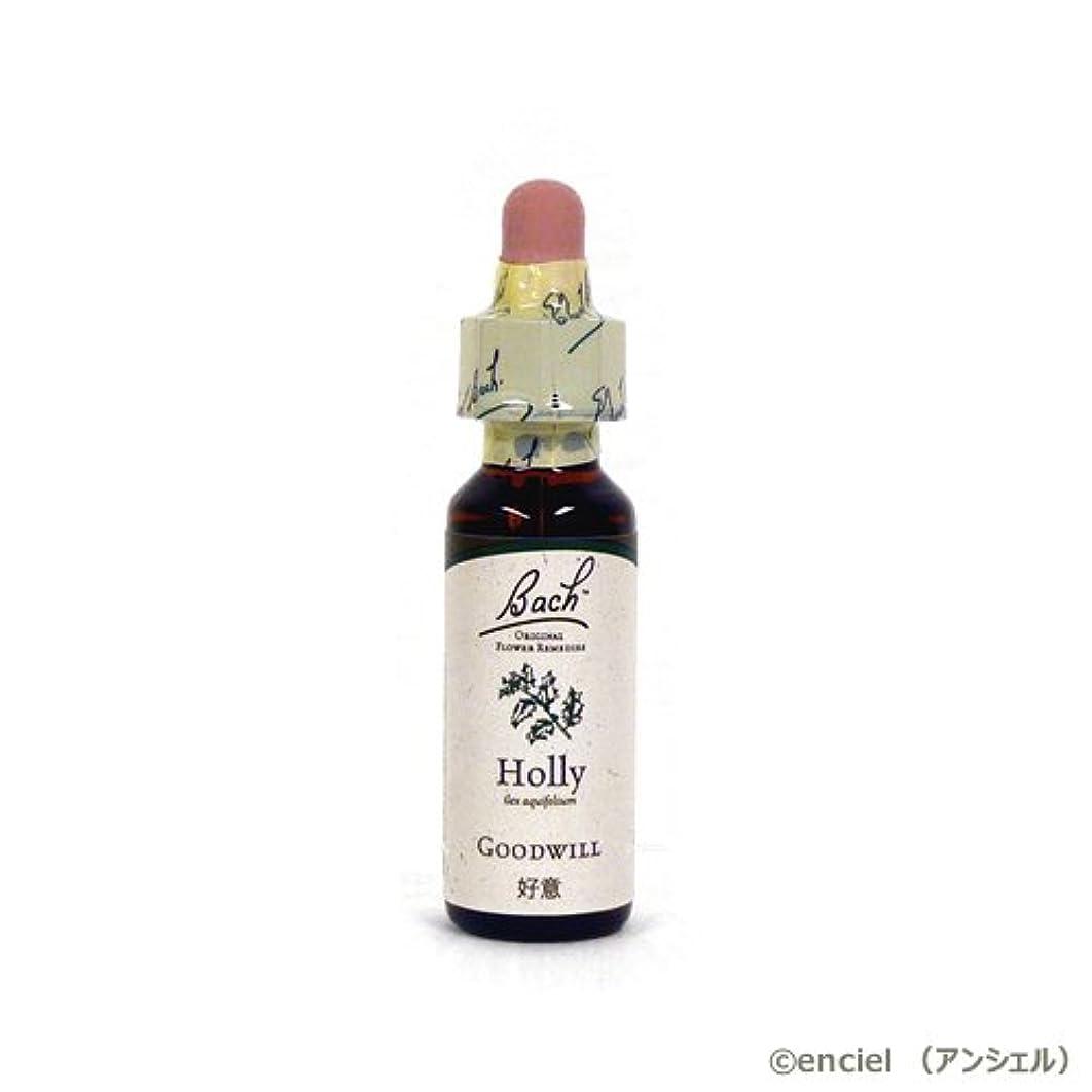 化学起きるせっかちバッチフラワー レメディ ホリー 10ml グリセリンタイプ 日本国内正規品