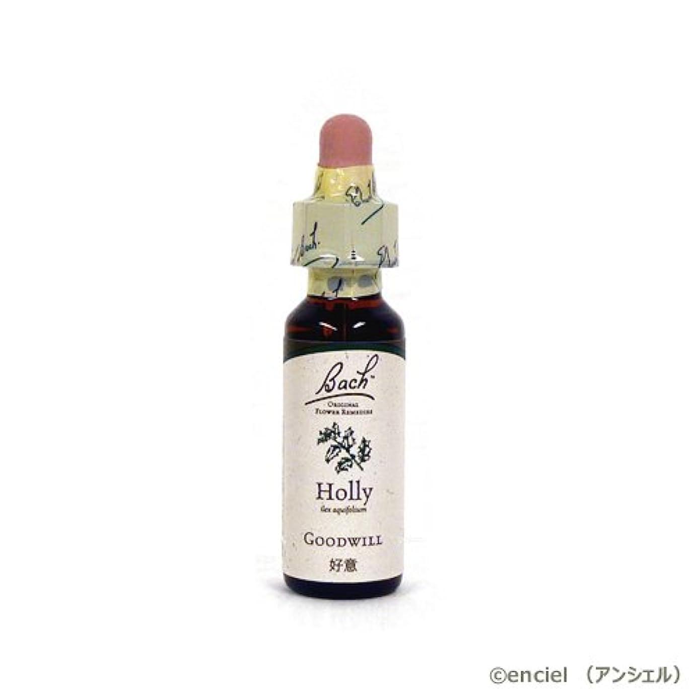 ビール分類文言バッチフラワー レメディ ホリー 10ml グリセリンタイプ 日本国内正規品