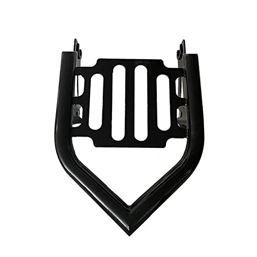 MKOIJN Motorcycle Sissy Bar Detachable Passenger Backrest Fit for Harley Touring Street Glide 2009-2021 (Color : Type A)