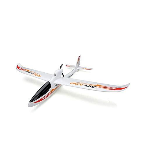 DishyKooker WLtoys F959S 2.4G 3CH 6-Achsen-Gyro RC Flugzeug Fixed Wing SKY-King RTF Fernbedienung Flugzeug Glider rot