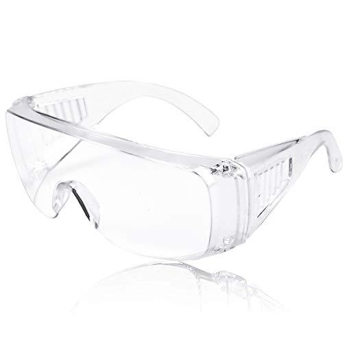 Gafas Protectoras Paquete de 12 Gafas de Seguridad Gafas de Proteccion con Lentes Transparentes Antivaho y Antipolvo y Antipolvo Gafas Proteccion para Trabajo/Laboratorio/Industria/Agricultura
