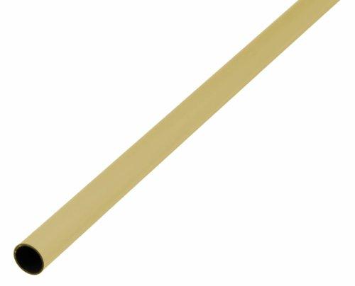 GAH-Alberts 471248 Rundrohr - Messing, 1000 x 8 x 0,5 mm