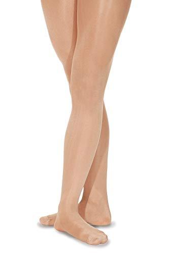 Mondor Damen Tights Shimmer Strumpfhose, Toast, M