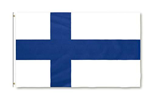 Star Cluster 90 x 150 cm Flagge Finnlands/Finnland Fahne/Suomen lippu/Flag of Finnland (FI 90 x 150 cm)