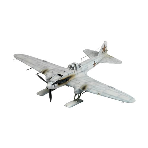 Price comparison product image Academy IL-2 Shturmovik Ski Equipped Early Version Airplane Model Building Kit