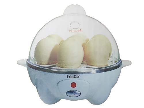 Eierkocher-Set, Dampfkocher, Eierkocher, Brot, Gemüse, 360 W, schnell, max. bis zu 7 Eier