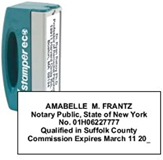 Xstamper Self-Inking Notary Pocket Stamp