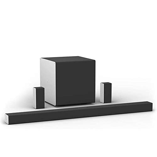 """VIZIO SB46514-F6 46"""" 5.1.4 Home Theater Sound System with Dolby Atmos and Wireless Subwoofer, Includes Rear Surround Speakers, Black"""