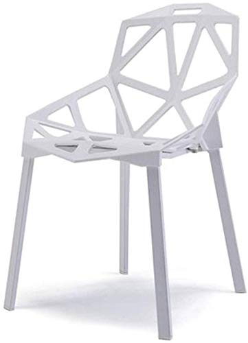 LJBXDCZ NJ barkruk barstoel woonkamer lounge stoel bar creatieve holle geometrische stoel restaurant café keuken resort hotel modern plastic bar stoel barkruk kruk 3.9