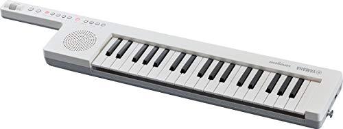 Yamaha Digital Keyboard Sonogenic SHS-300, wit – klein, compact omhang-keyboard met Bluetooth (MIDI) & USB-MIDI – draagbare KeyTar met jamfunctie