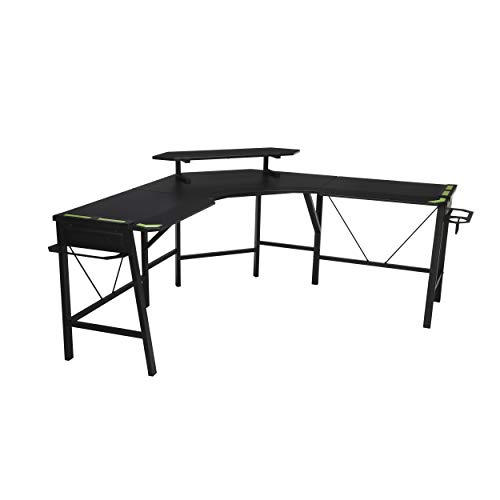 RESPAWN RSP-2010 Gaming L-Desk GRAY, 66