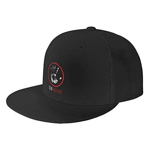 Nologo Stop Bully Black Baseball Cap Flat Hat Pop It Adjustable Fashion Hats Make The