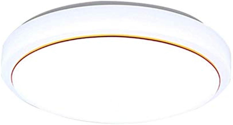 SGWH LED Beleuchtung Deckenleuchte, Runde weie Acryl Deckenleuchte Fernbedienung Dimmen Deckenleuchte Nordic Modernes Wohnzimmer Schlafzimmer Korridor Deckenleuchte Farbe  Wei (Edition  Weilicht-38