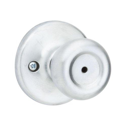 Kwikset 93001-361 Tylo 300T26Dalrcsbx Signature Tulip Door Knob Lock, Satin Chrome