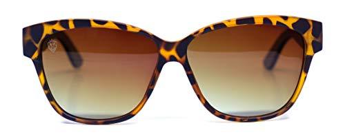 Óculos de Sol Sam, Mafia Wood Exclusive Wear, Feminino, Preto, M