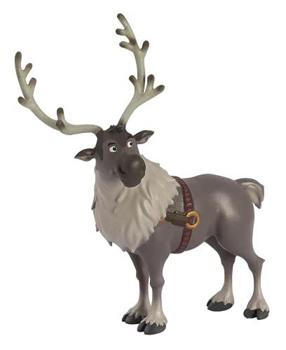 Bullyland Disney 13514-Figura Walt Frozen 2, Sven, Circa 12 cm di Altezza, Figura Dipinta a Mano, Senza PVC, per Bambini per Il Gioco immaginativo, Colore Variegato, 13514
