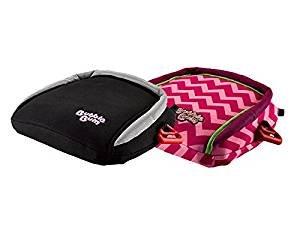 Siège d'appoint gonflable de voiture de Bubblebum, groupe 2/3, jumeau noir et paquet rose