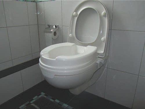 Behrend Toilettensitzerhöher Sitzerhöhung 10 cm ohne Deckel Toilettenaufsatz