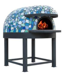 Horno para pizzería de leña, capacidad de producción de 2/3 pizzas, diámetro...