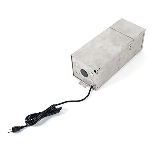 150W Magnetic Landscape Lighting Power Supply in Stainless Steel