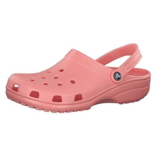 Crocs Classic, Sabot Unisex Adulto, Rosa (Melon), 39/40 EU