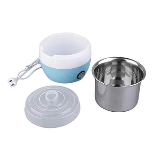 Creatore automatico di yogurt in acciaio inossidabile Delizioso contenitore di yogurt fai-da-te Sapore Il tuo yogurt fatto in casa a tuo gusto - Blu