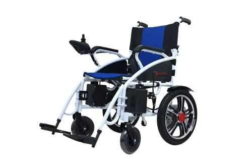 Hercules LiteMobile Wheelchair, Intelligent Electric Motorized Wheelchair, Portable Folding Lightweight Power Wheel Chair, Comfortable Disabled Wagon, Elderly Mobility