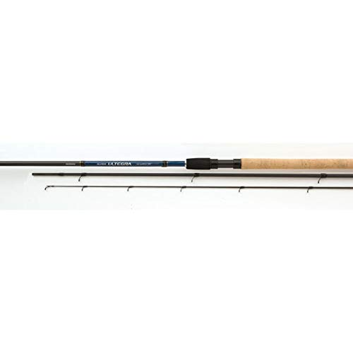 SHIMANO Canna da Pesca con Feeder o Method Super Ultegra AX Feeder 4.26 m 150 g Telescopica