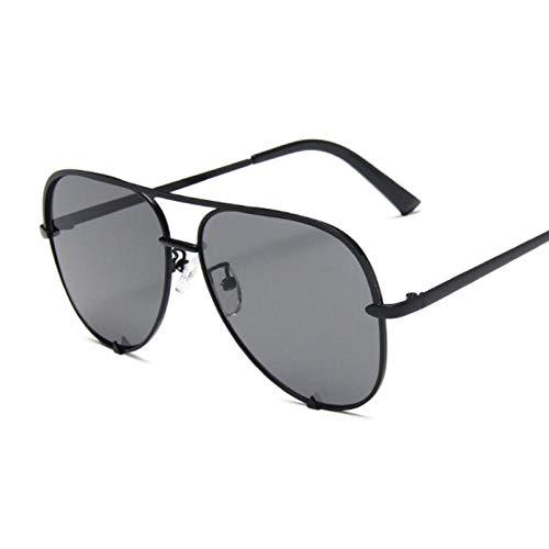 WQZYY&ASDCD Gafas de Sol Gafas De Sol Clásicas Retro para Mujer Gafas De Sol Mujer Moda Retro Negro Degradado-Black_Gray