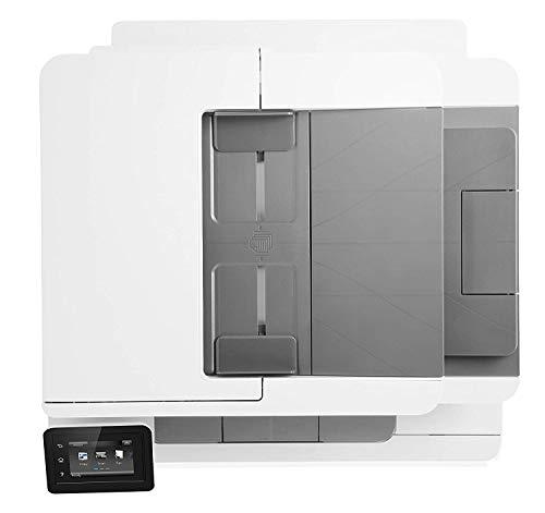 HP Color LaserJet Pro MFP M283fdw 7KW75A, Impresora Láser Color Multifunción, Imprime, Escanea, Copia y Fax, Wi-Fi, Ethernet, USB 2.0 alta velocidad, Host USB, HP Smart App, Pantalla Táctil, Blanca