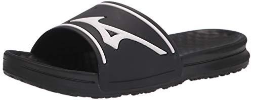 Mizuno Herren Slide Baseballschuh, (schwarz/weiß), 47 EU