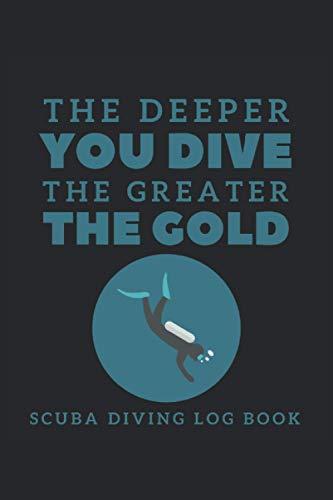 Libro de registro de buceo para buceador: Diario de buceo de 120 páginas para todos los que aman el océano y nadar y bucear |Realice un seguimiento de ... y realice un seguimiento de las observaciones