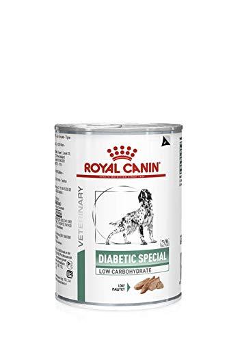 Royal Vet Canine Diabetic SPAL Low Caja 12X410GR, Negro, Mediano, 4920
