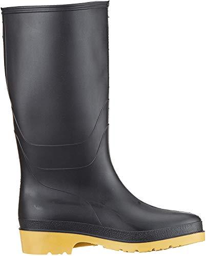 Dunlop Protective Footwear (DUNZJ) Dunlop Dull, Bottes & bottines de pluie Mixte Adulte, Black, 34 EU