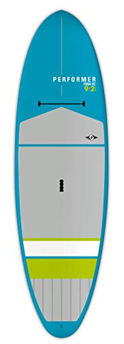 BIC Sport Tough-TEC Performer Sup Stand Up Paddleboard, White/Blue/Blue, 10'6