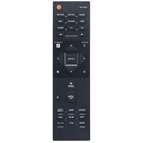 RC-927R Sub RC-914R Replacement Remote Fit for Pioneer AV Receiver