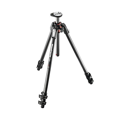 Manfrotto MT190CXPRO3 Carbon Fiber 3-Section Tripod - Bundle MHXPRO-BHQ2 XPRO Ball Head w/QR