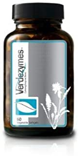 SOLLE NATURALS VERDEZYMES – Herbal Supplement for digestive, Energy, Circulatory, Immune system – Peppermint Oil, Passion ...