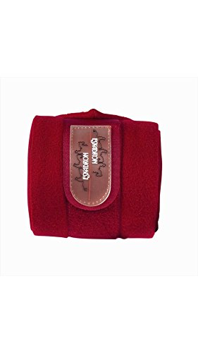 ESKADRON Fleece Bandagen CLASSIC SPORTS F/S 2013, chilired, 3, 5 m lang
